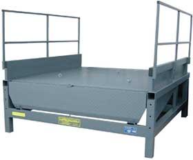 External Frame For Dock Leveler